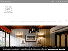 Tablet Preview of hotelpostalakecomo.co.uk